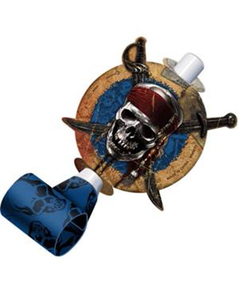 Pirates of the Caribbean 4 Party Favor Blowouts