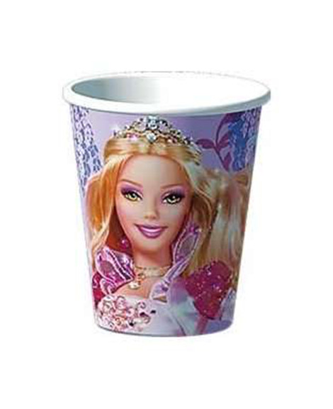 Barbie 12 Dancing Princess 9 oz Paper Cups