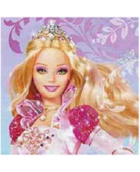 Barbie 12 Dancing Princess Dessert Napkins