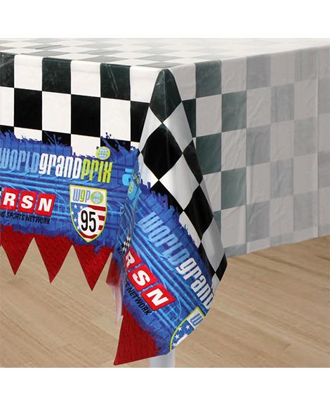 Disney Cars Grand Prix Plastic Table Cover