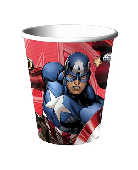 Avengers Assemble 9 oz Paper Cups