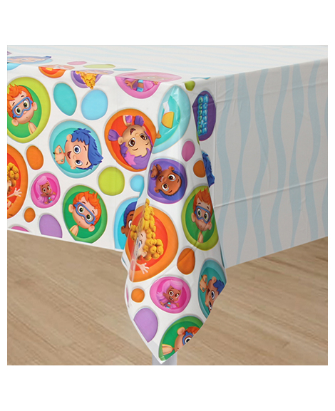 Bubble Guppies Plastic Table Cover