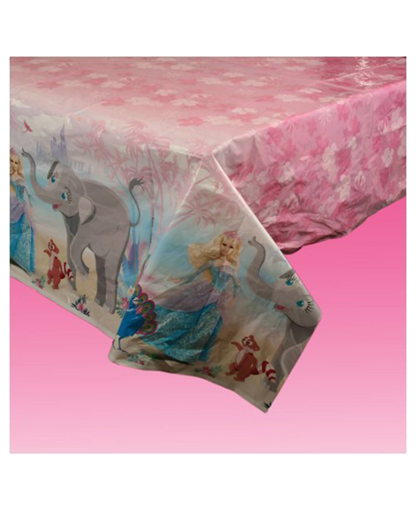 Barbie Island Princess Plastic Tablecover