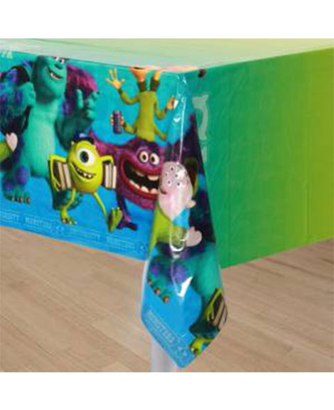 Monsters University Plastic Table Cover