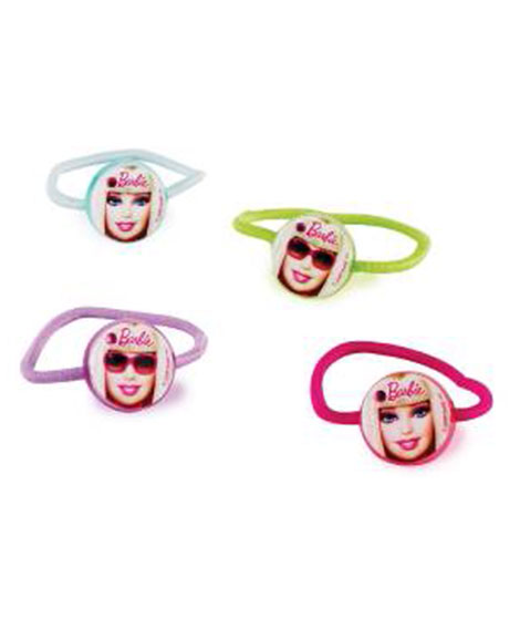 Barbie All Dolled Up Birthday Party Favors Hair Ponies Set of 4