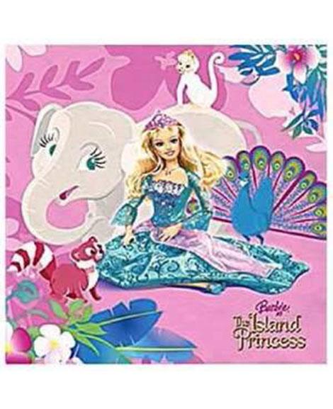 Barbie Island Princess Beverage Napkins