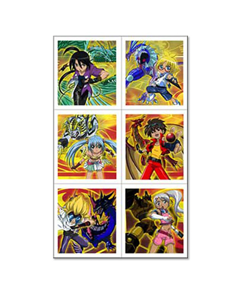 Bakugan Party Favor Stickers