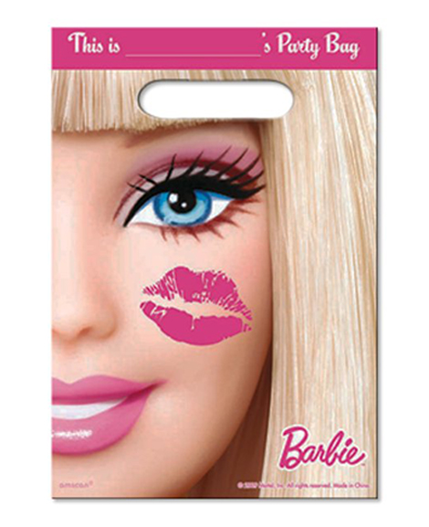 Barbie All Dolled Up Party Favor Treat Bags