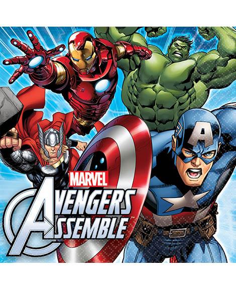Avengers Assemble Marvel Lunch Napkins