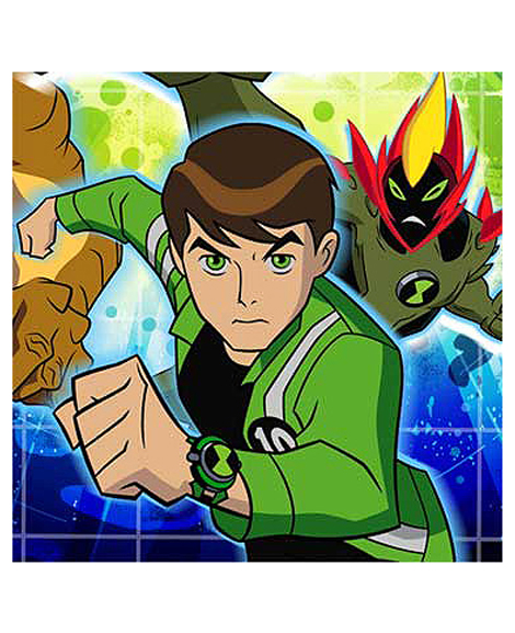 Ben 10 Alien Force Dessert Napkins