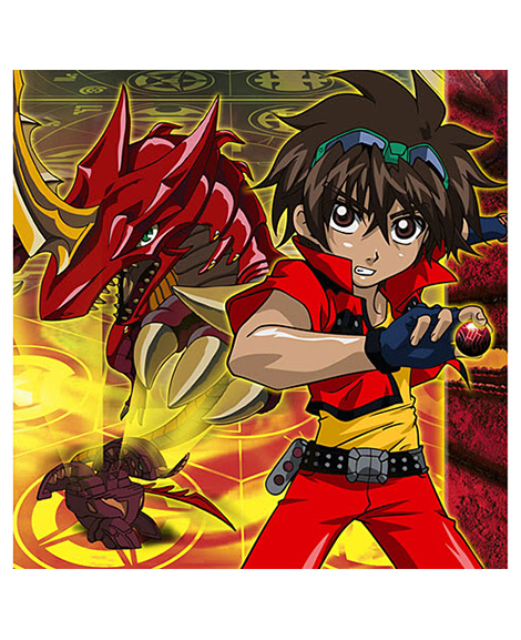 Bakugan Battle Brawlers Lunch Napkins