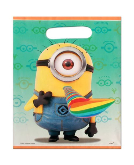 Despicable Me 2 Party Favor Treat Bags