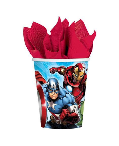 Avengers Assemble Marvel 9 oz Paper Cups
