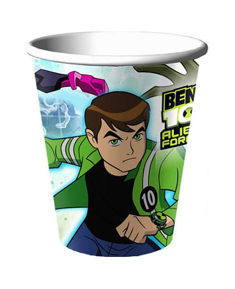 Ben 10 Alien Force 9 oz Paper Cups