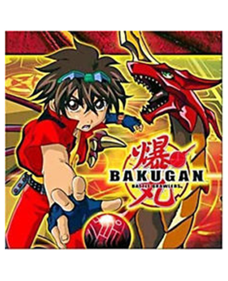 Bakugan Battle Brawlers Beverage Napkins Party Supplies
