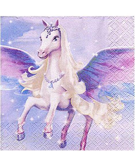 Barbie Pegasus Dessert Napkins