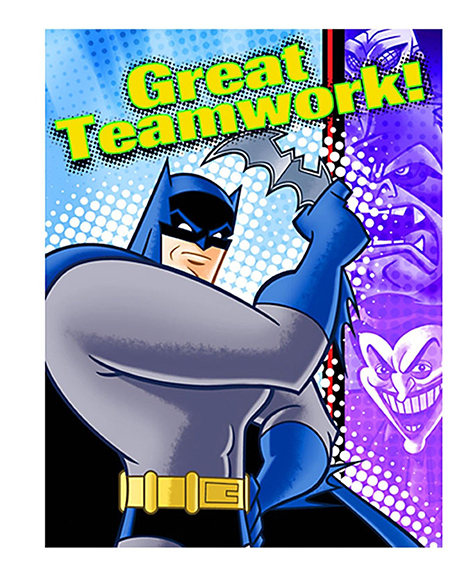 Batman Brave and Bold Thank You Cards