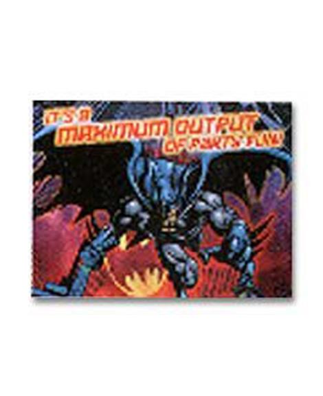 Batman Begins Maximum Output Party Invitations