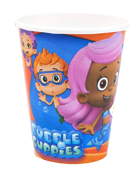 Bubble Guppies 9 oz Paper Cups