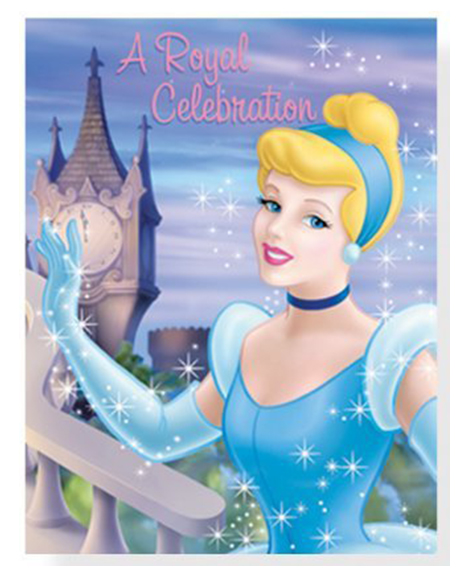 Cinderella Stardust Party Invitations