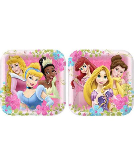 Disney Fanciful Princess Lunch Plates