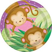Monkey Girl Baby Shower
