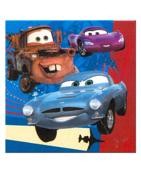 Disney Cars 2 Lunch Napkins