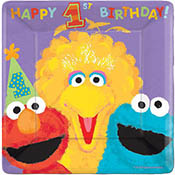 Sesame Street-1st-birthday-lunch-plate-175