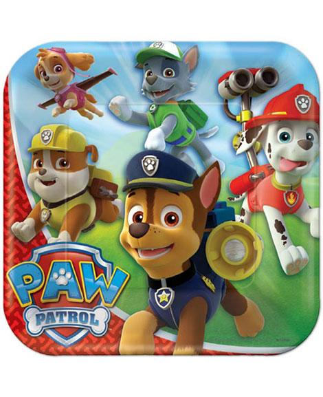 Paw Patrol Dessert Plates 8 Ct