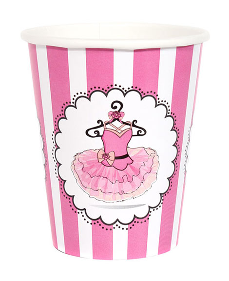 Ballerina Party 9 oz Paper Cups
