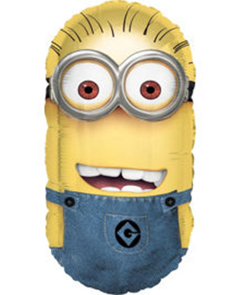 Despicable Me 2 Minion Super Shaped Foil Mylar Balloon