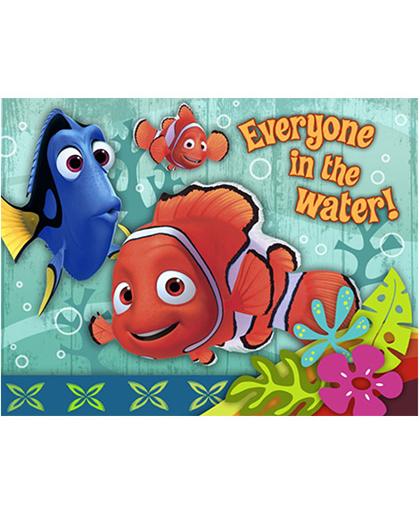 Finding Nemo Coral Reef Party Invitations