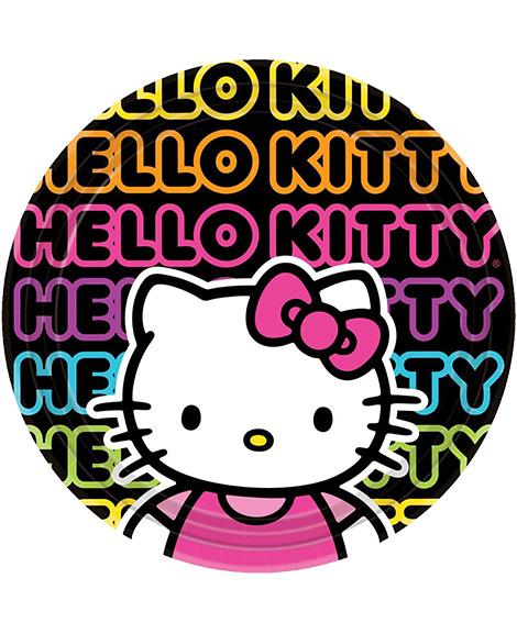 Hello Kitty Tween Lunch Plates