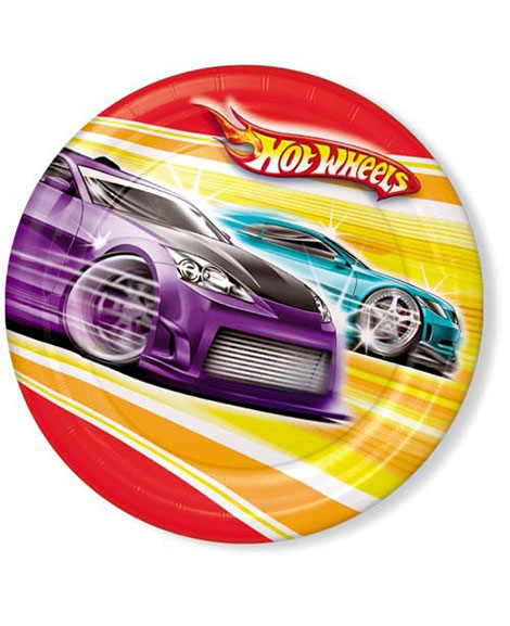 Hot Wheels Fast Action Lunch Plates