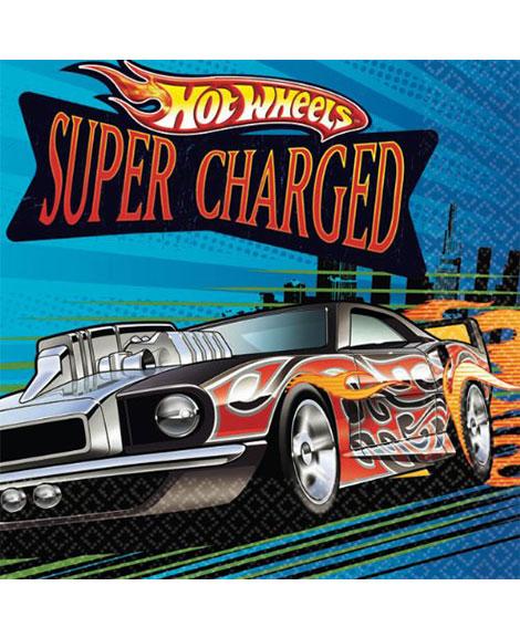 Hot Wheels Speed City Beverage Napkins