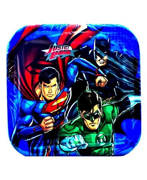 Justice League Rescue Dessert Plates