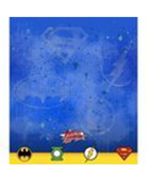 Justice League Rescue Plastic Table Cover