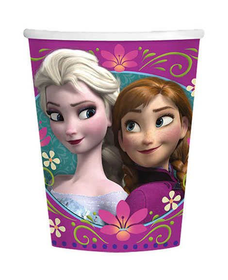 Disney Frozen 9 oz Paper Cups