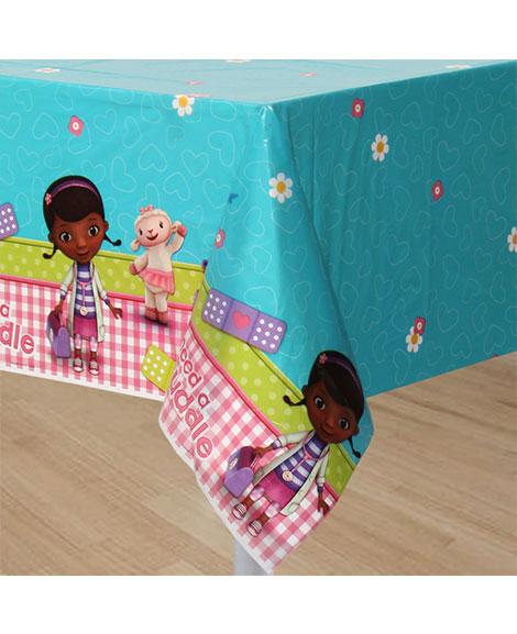 Doc McStuffins Plastic Table Cover