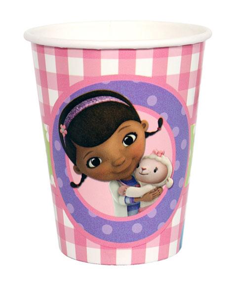 Doc McStuffins 9 oz Paper Cups