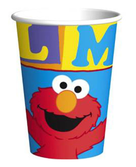 Elmo Loves You 9 oz Paper Cups