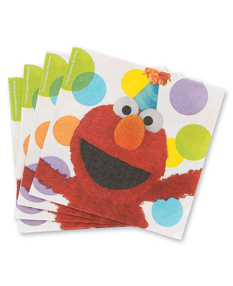 Elmo Party Sesame Street Lunch Napkins