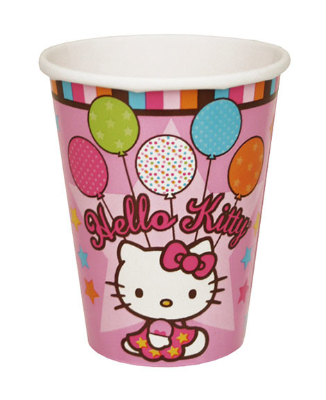 Hello Kitty Balloon Dreams 9 oz Paper Cups