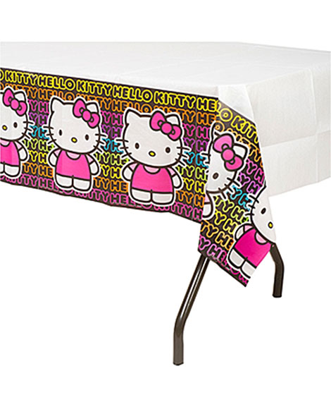 Hello Kitty Tween Paper Table Cover