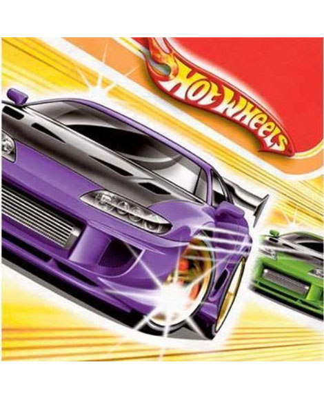 Hot Wheels Fast Action Lunch Napkins