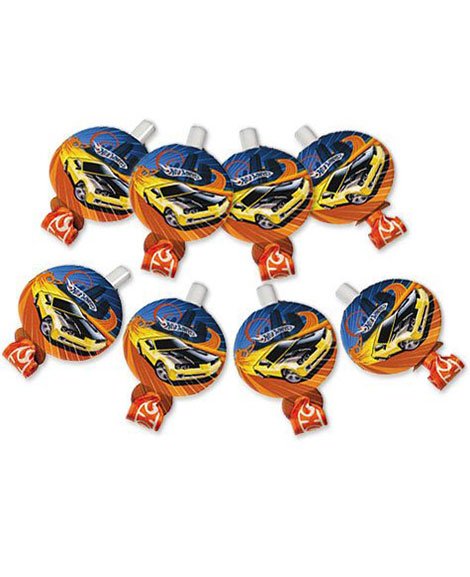 Hot Wheels High Speed Party Favor Blowouts