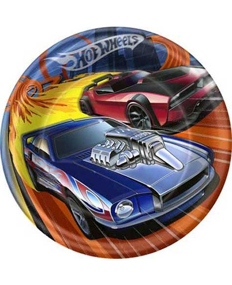 Hot Wheels High Speed Lunch Plates