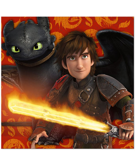 How To Train Your Dragon 2 Lunch Napkins