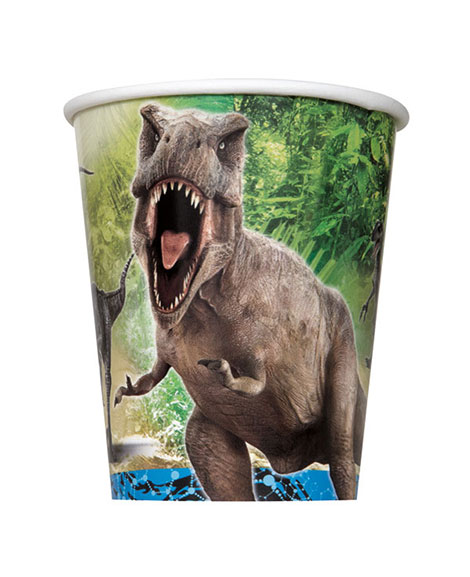 Jurassic World 9 oz Paper Cups