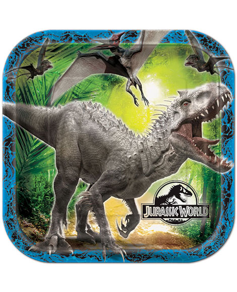 Jurassic World Lunch Plates